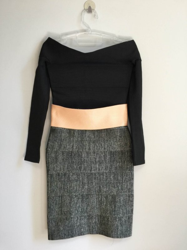 Vestido manga longa (P) - Lolitta NOVO