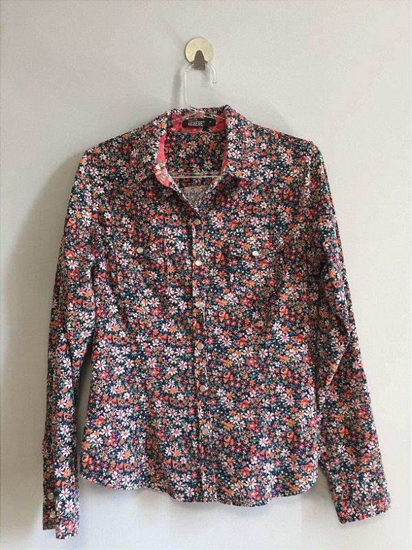 Camisa cotelê (P) - Geneve