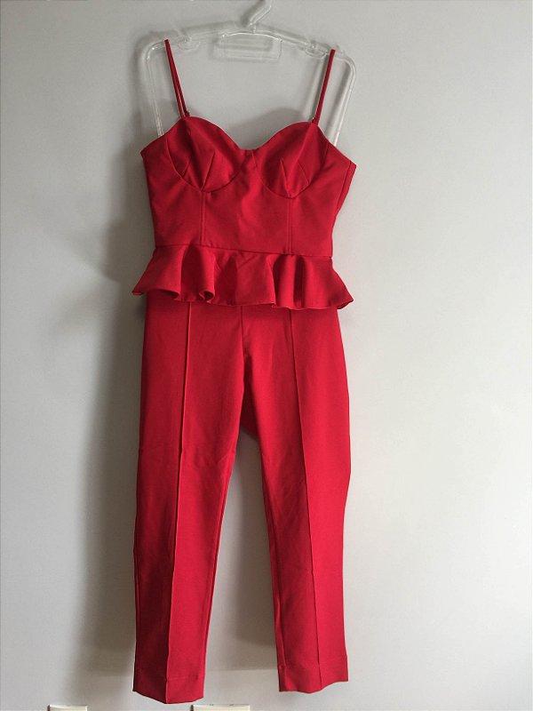 Conjunto red (M) - Anne Fernandes
