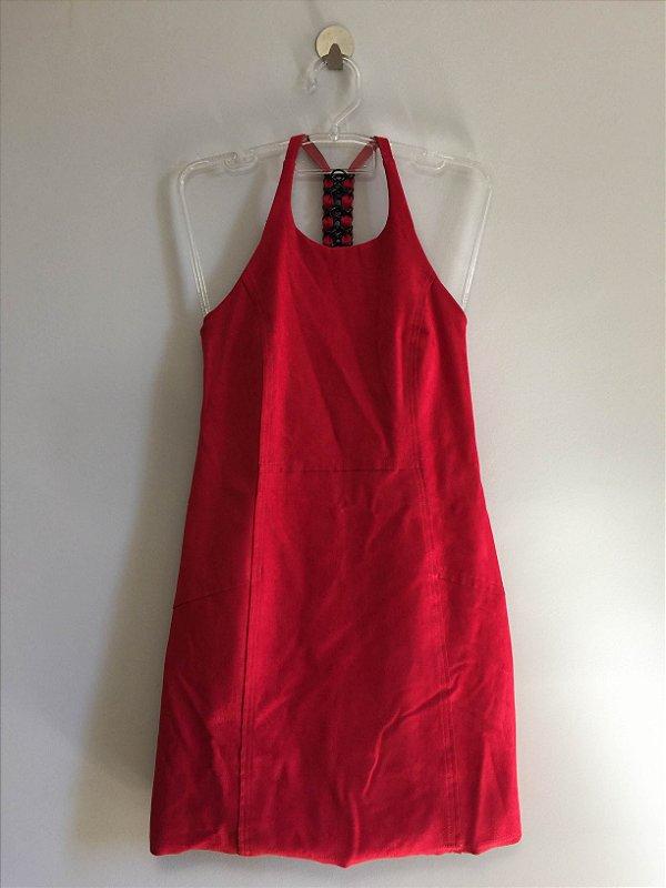 Vestido chamois red (38) - Shoulder