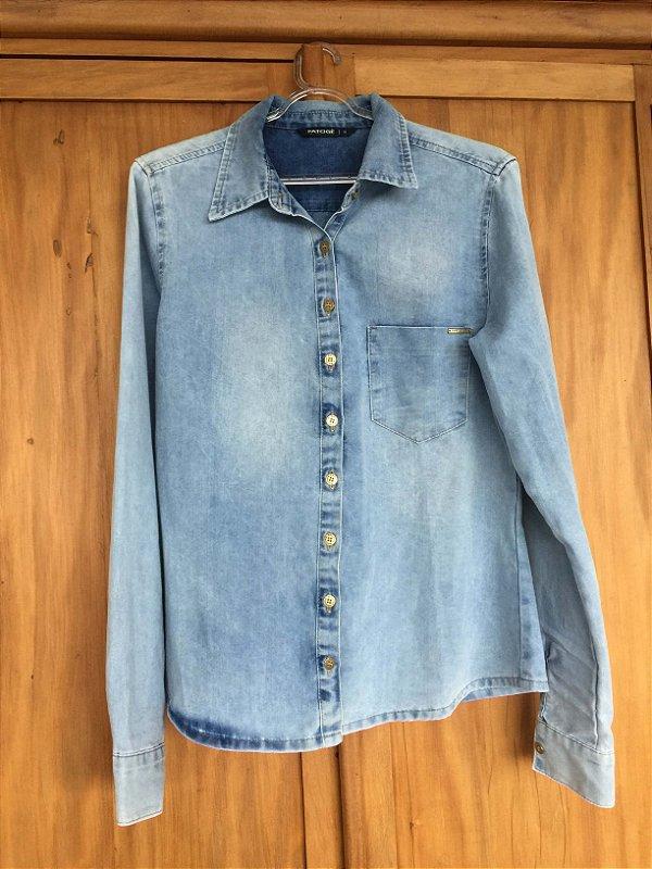 Camisa jeans (G) - Patogê