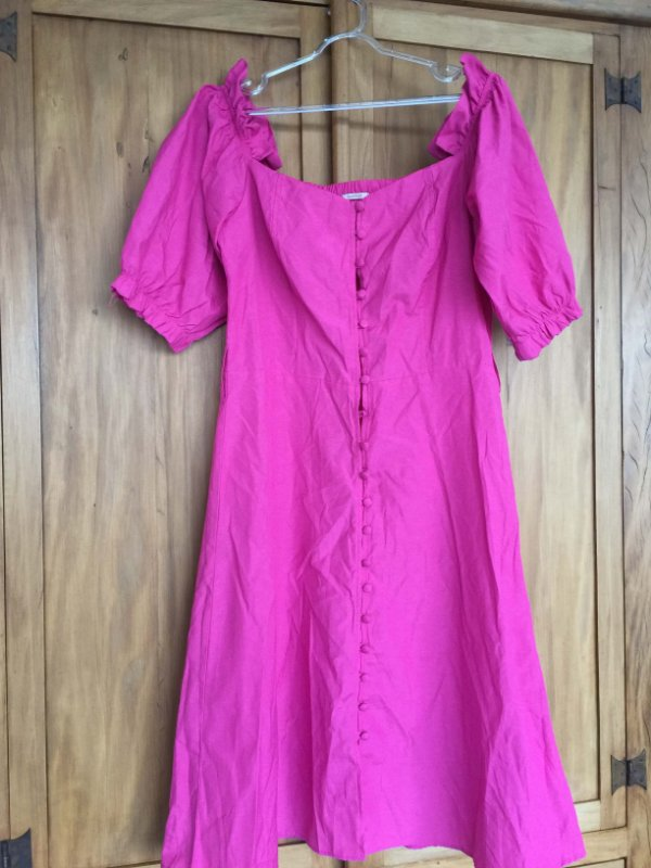 Vestido pink (M) - Quintess NOVO