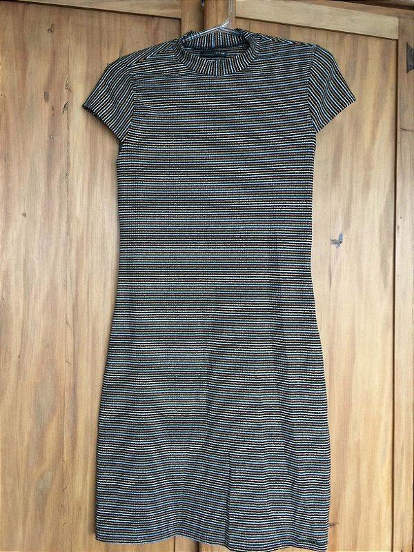 Vestido lurex curto (M) - Triton
