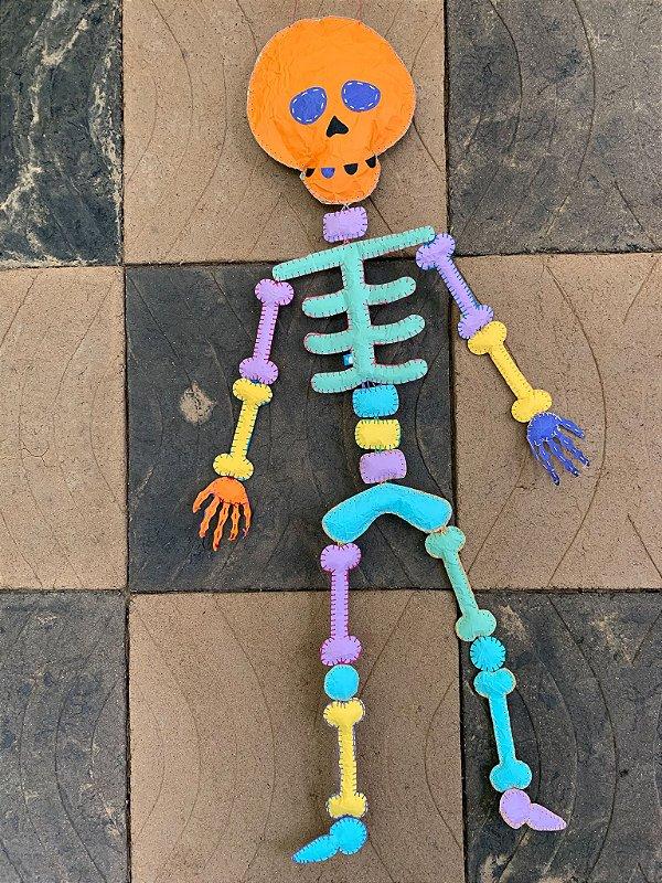 Esqueleto Boneco Paper