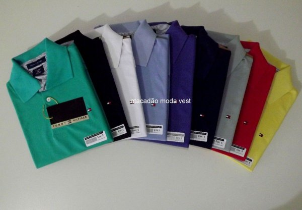 98883556e0 Camisa Polo Tommy Hilfiger - Atacado Vest