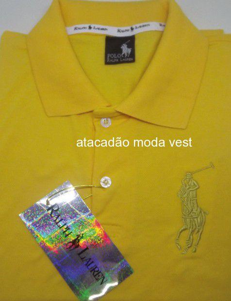 a97b714acc Camisa Polo Raph Lauren - Atacado Vest