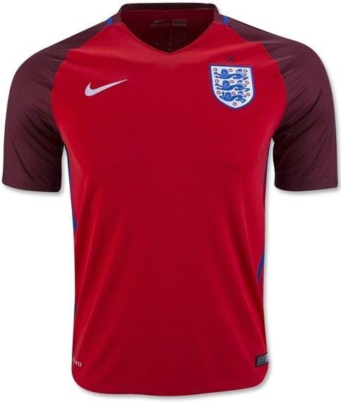 98f1d25827c99 Camisa Inglaterra - Modelo II 2016 - wbasports