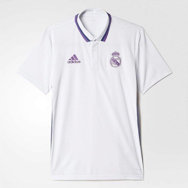 Camisa Polo Real Madrid Climalite