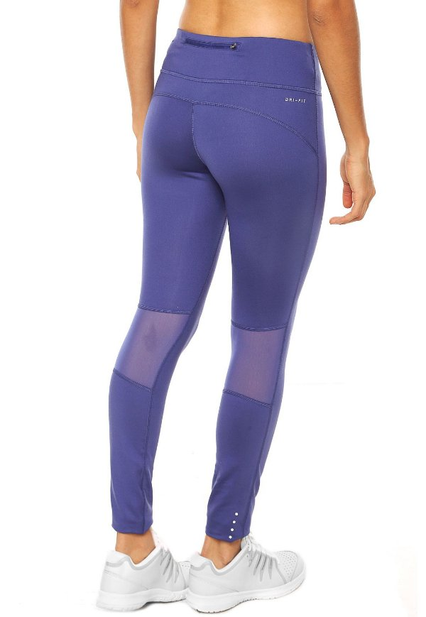 Legging Nike Df Epic Run Tight Azul