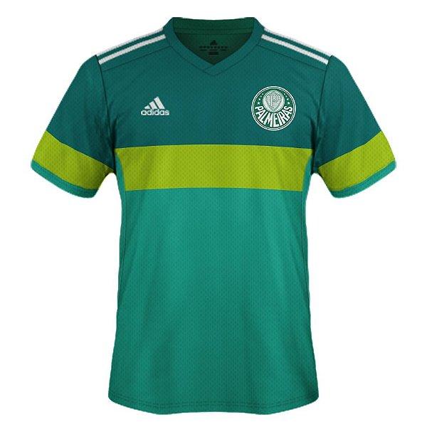 Camisa Palmeiras Adidas - Treino Goleiro 2017