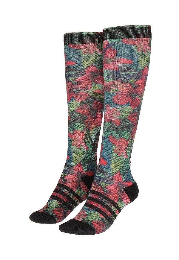 Meia adidas Knee Cli Salin TC Verde