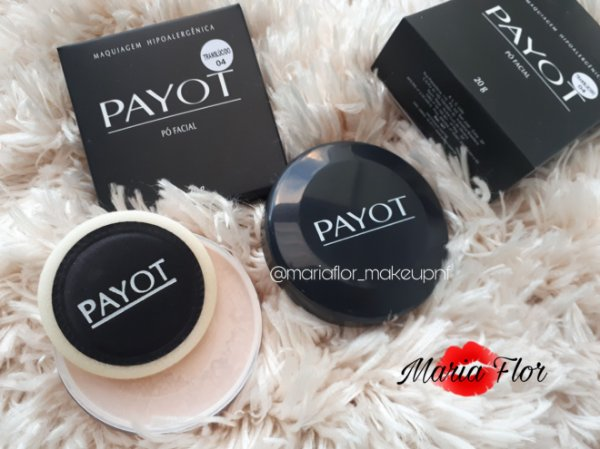42c8d8a47b2 Pó translucido 04 payot matte - Maria Flor Makeup