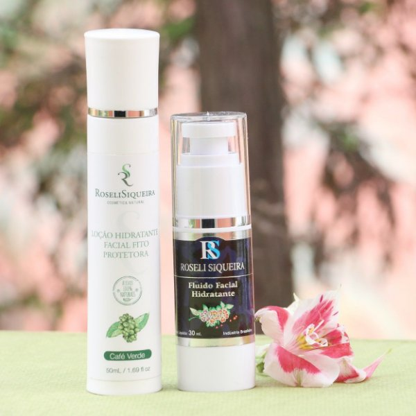KIT: Bio Fluido Facial Hidratante 30 ml + Loção Hidratante Facial Fito Protetor 50 ml