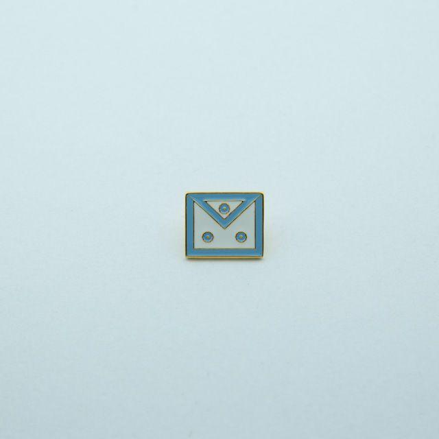 BT-028-A - Pin Avental Mestre Azul