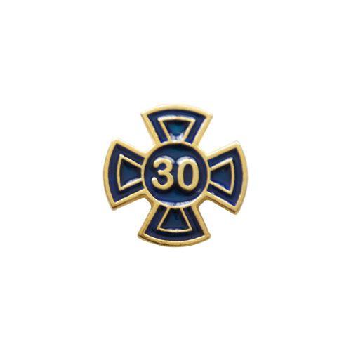 BT-043-A - Pin Grau 30 Azul