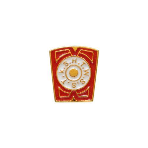 BT-059-V - Pin Rito de York - Mestre da Marca Vermelho