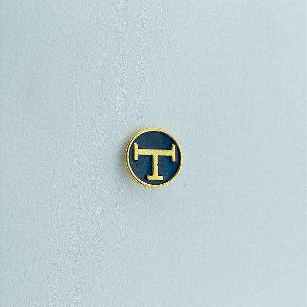 BT-069 - Pin Tau Redondo Azul