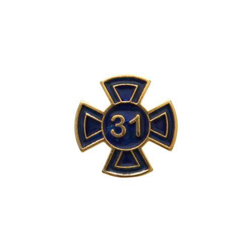 BT-095-A - Pin Grau 31 Azul