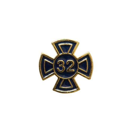 BT-096-A - Pin Grau 32 Azul