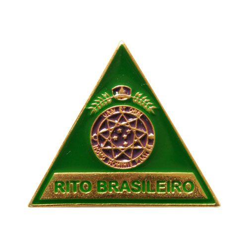 BT-105 - Pin Triângulo Rito Brasileiro