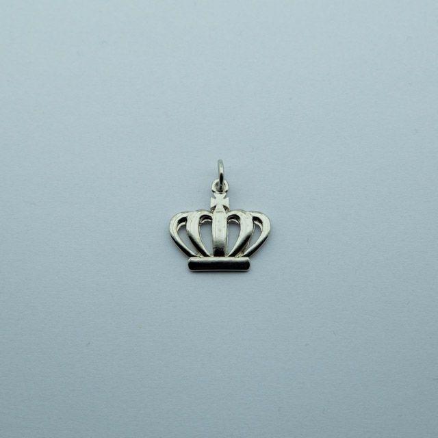 PI-028-N - Pingente Coroa Filhas de Jó Niquelado