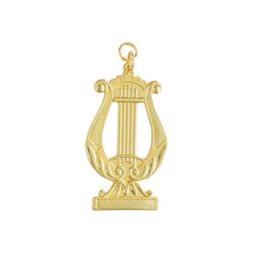 JO-027-D - Joia Mestre de Harmonia Dourado