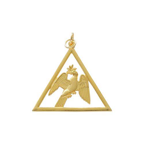 JO-039-D - Joia 1º Diácono GL Dourado