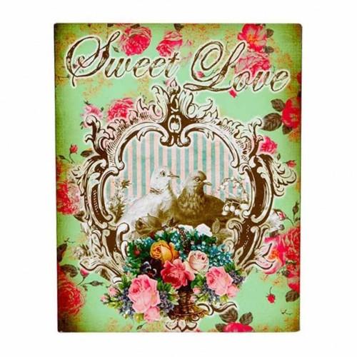 Placa Decorativa Sweet Love