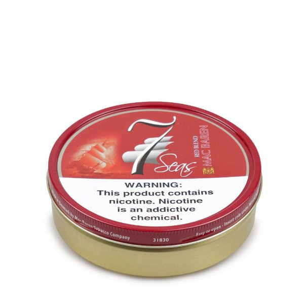 Fumo para Cachimbo Mac Baren 7 Seas Red - Lt (100g)