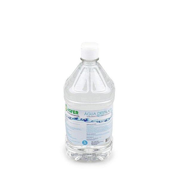 Água Destilada Asfer - 1 Litro