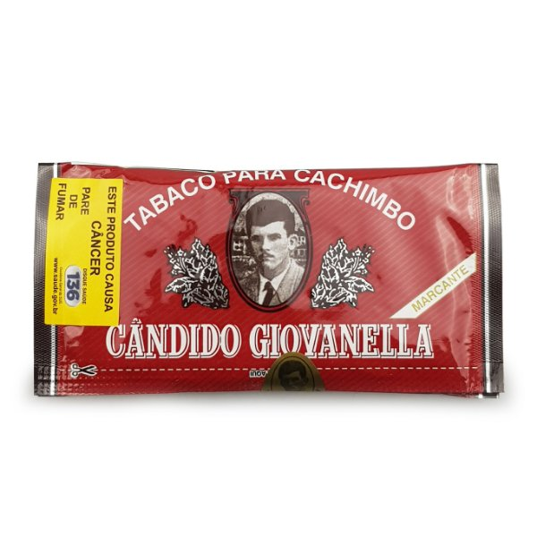 Fumo para Cachimbo Candido Giovanella Cereja - Pct (50g)