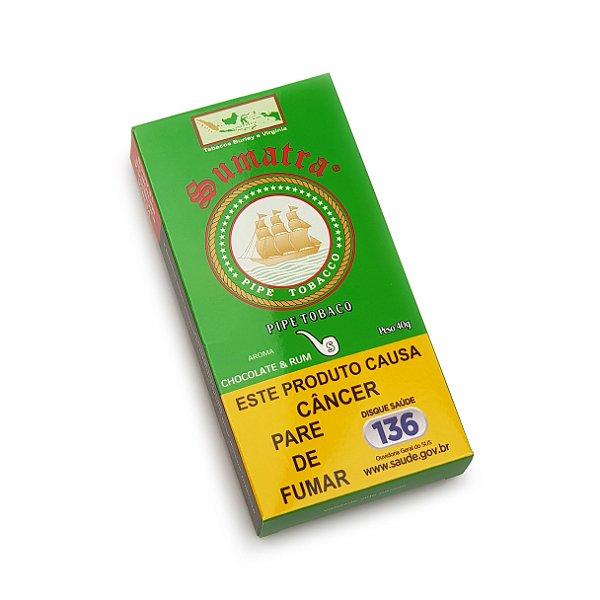 Fumo para Cachimbo Sumatra Chocolate e Rum - Pct (40g)