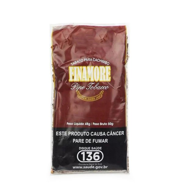 Fumo para Cachimbo Finamore Pêssego - Pct (50g)