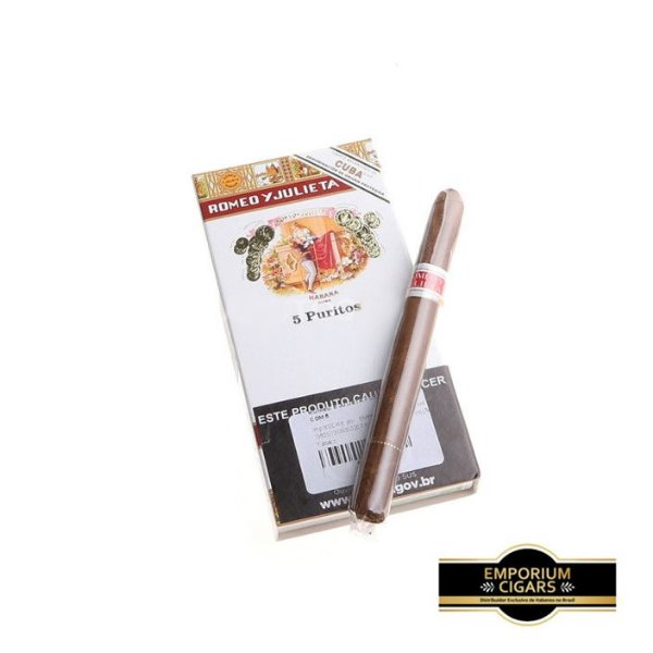 Cigarrilha Romeu e Julieta Puritos - Pt (5)