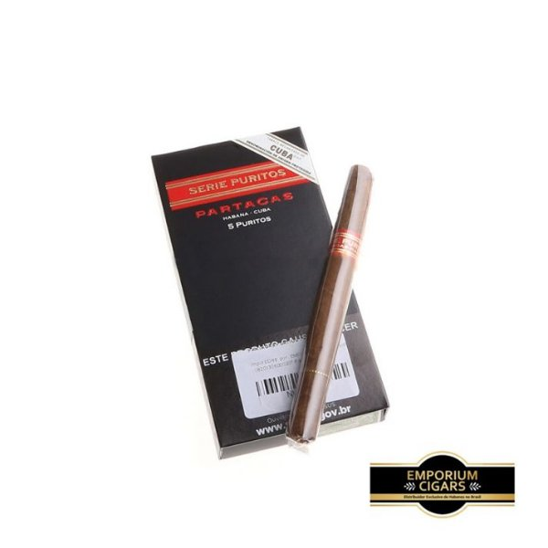 Cigarrilha Partagas Puritos - Pt (5)