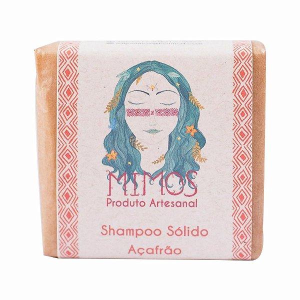 Shampoo sólido de Açafrão - 100g