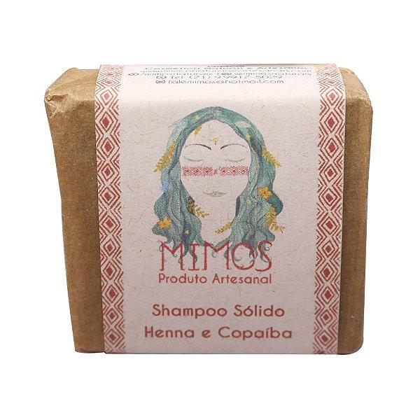 Shampoo de Henna e Copaíba - 100g