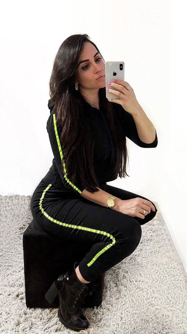 Conjunto Listra Lima Neon