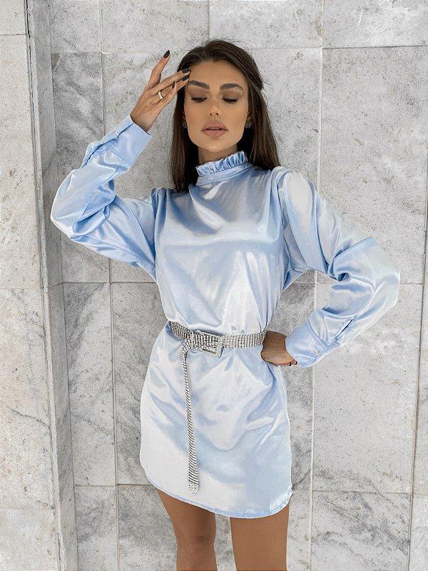 Vestido Gloss Cetim
