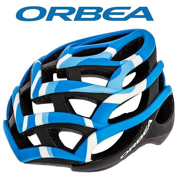 "Capacete Orbea Odin Azul Tamanho M"""