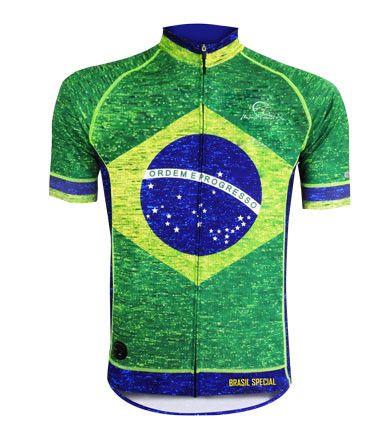 Camisa de Ciclismo Mauro Ribeiro Brasil Especial