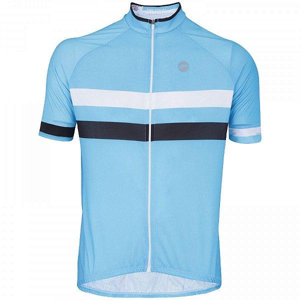 Camisa de Ciclismo Barbedo Giro Azul
