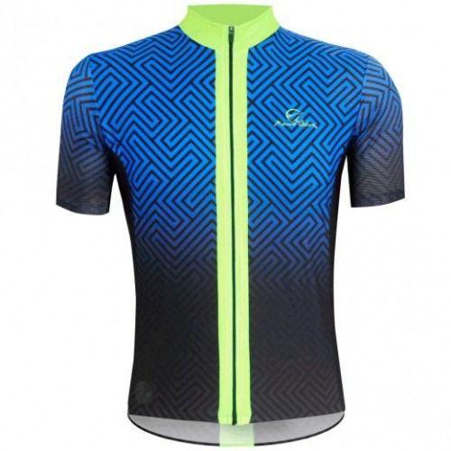 Camisa de CIclismo Mauro Ribeiro Maze Fluor