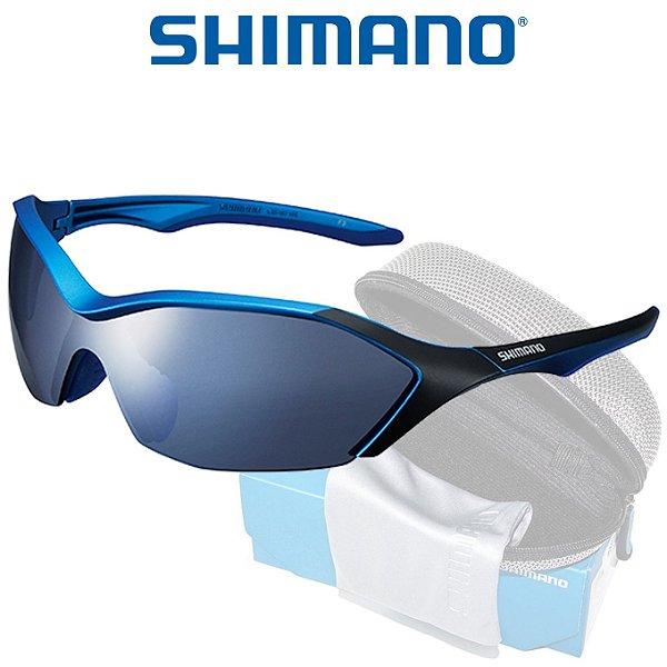 c8a6281208304 Oculos Shimano Serie R CE S71R Azul Fosco - Planeta Ciclo - Bike Service