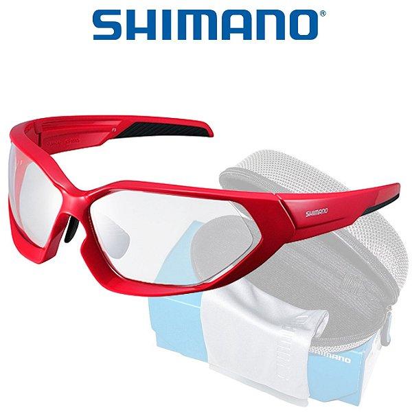 6601ec0cba566 Óculos Shimano Serie X CE S51X Preto com Vermelho - Planeta Ciclo ...
