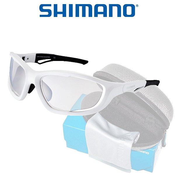 8956bbda2dd28 Óculos Shimano Serie X CE S60X Branco C  Preto - Planeta Ciclo ...