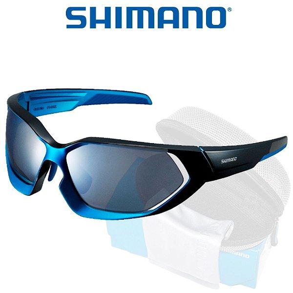 Óculos Shimano Serie X CE S51X  Azul Com Preto