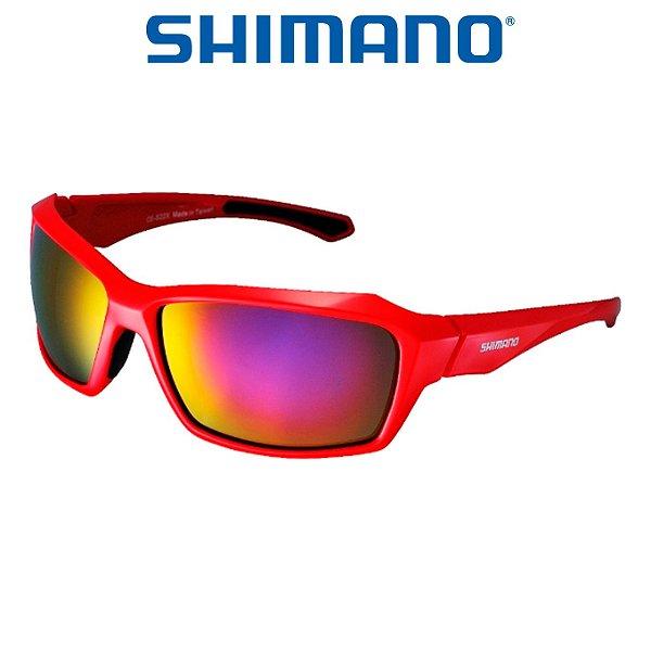 b6d450f21691a Óculos Shimano Serie X CE S22X Vermelho - Planeta Ciclo - Bike Service