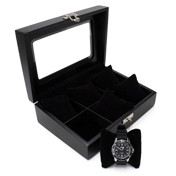 Caixa 6 Relógios