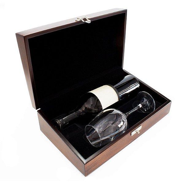Caixa Luxo 1 Taça 1 Vinho